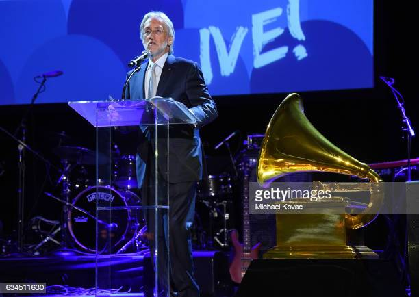 National Academy of Recording Arts and Sciences President Neil Portnow attends the annual GRAMMY In The Schools Live – A Celebration of Music...