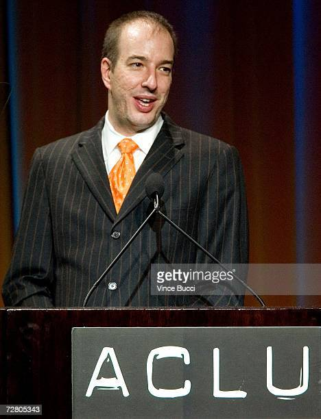 National ACLU Executive Director Anthony Romero presents the Eason Monroe Courageous Advocate Award at the American Civil Liberties Union Bill of...