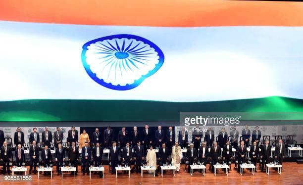 National Anthem Stranding Mamata Banerjee Chief Minister of West Bengal along Mukesh Ambani chairman managing director and largest shareholder of...