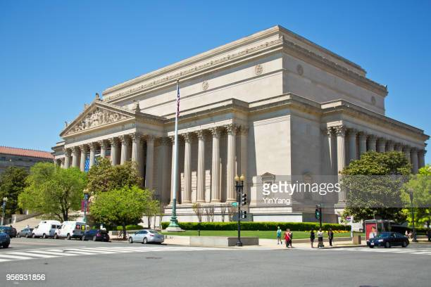 national archives, washington dc, usa - national archives washington dc stock photos and pictures