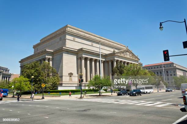 national archives, washington dc, usa - national landmark stock pictures, royalty-free photos & images