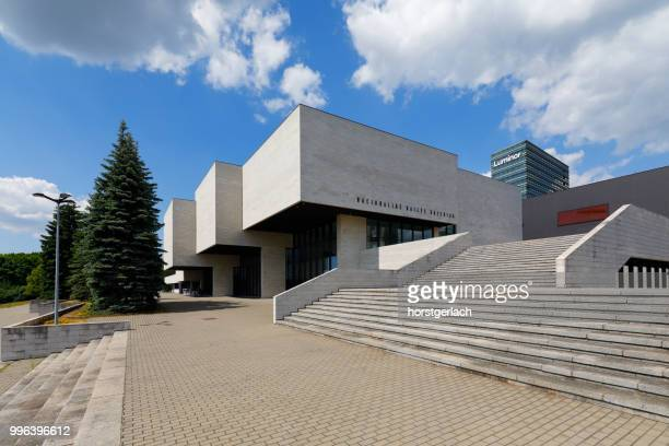 national art gallery of vilnius, lithuania, baltic states - bauhaus art movement stock pictures, royalty-free photos & images