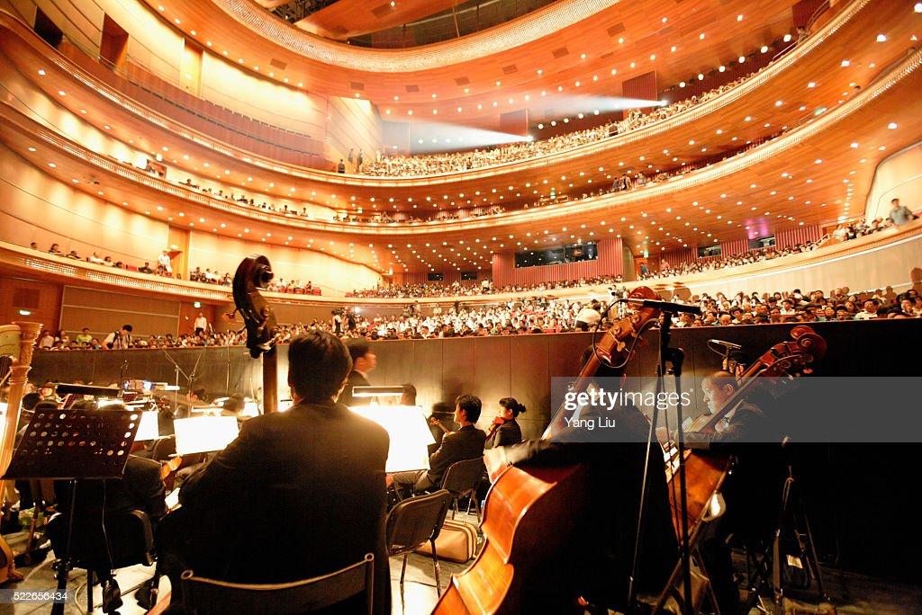 National Ballet of China Symphony Orchestra : Stock Photo