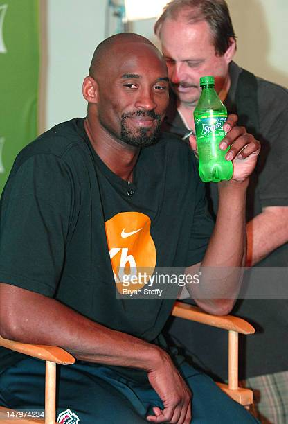 National Basketball Association player Kobe Bryant arrives at the Sprite Uncontainable Game Captain's Event on July 6, 2012 in Las Vegas, Nevada.