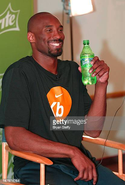 National Basketball Association player Kobe Bryant arrives at the Sprite Uncontainable Game Captain's Event on July 6 2012 in Las Vegas Nevada