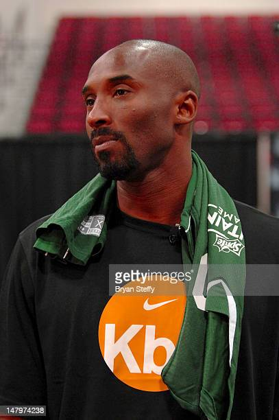 National Basketball Association player Kobe Bryant attends the Sprite Uncontainable Game Captain's Event on July 6, 2012 in Las Vegas, Nevada.