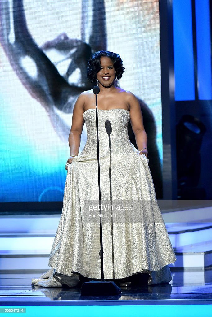 National Board of Directors Chairman Roslyn M. Brock speaks onstage during the 47th NAACP Image Awards presented by TV One at Pasadena Civic Auditorium on February 5, 2016 in Pasadena, California.