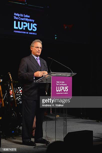 National Board of Directors Managing Director Peter M Schwab speaks at the Lupus Foundation Of America National Gala at Gotham Hall on October 8 2013...