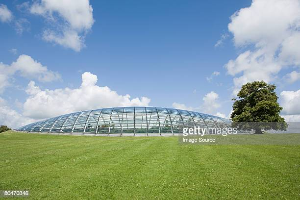 national botanical garden in wales - man made structure stock pictures, royalty-free photos & images