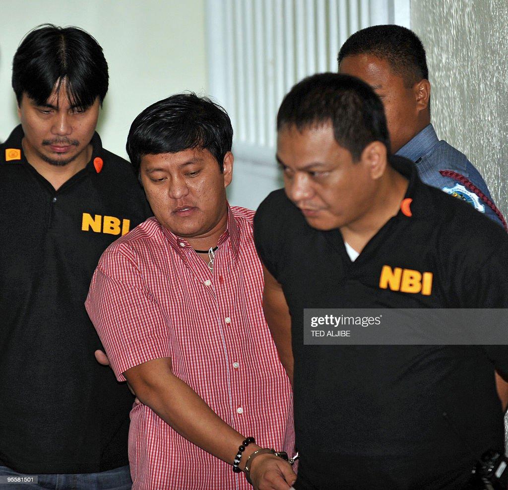 National Burueau Investigation (NBI) age : News Photo
