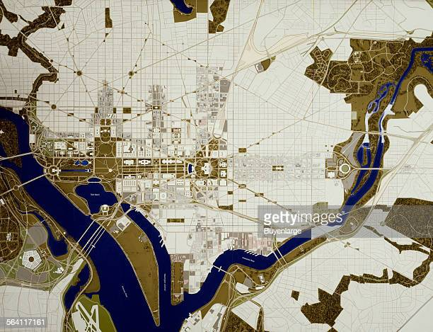 National Capital Planning Commssion map of Washington DC