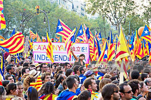 National Catalan protest