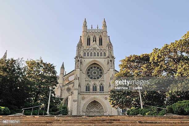 national cathedral - national cathedral stock pictures, royalty-free photos & images
