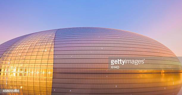 national centre for the performing arts - national landmark stock pictures, royalty-free photos & images
