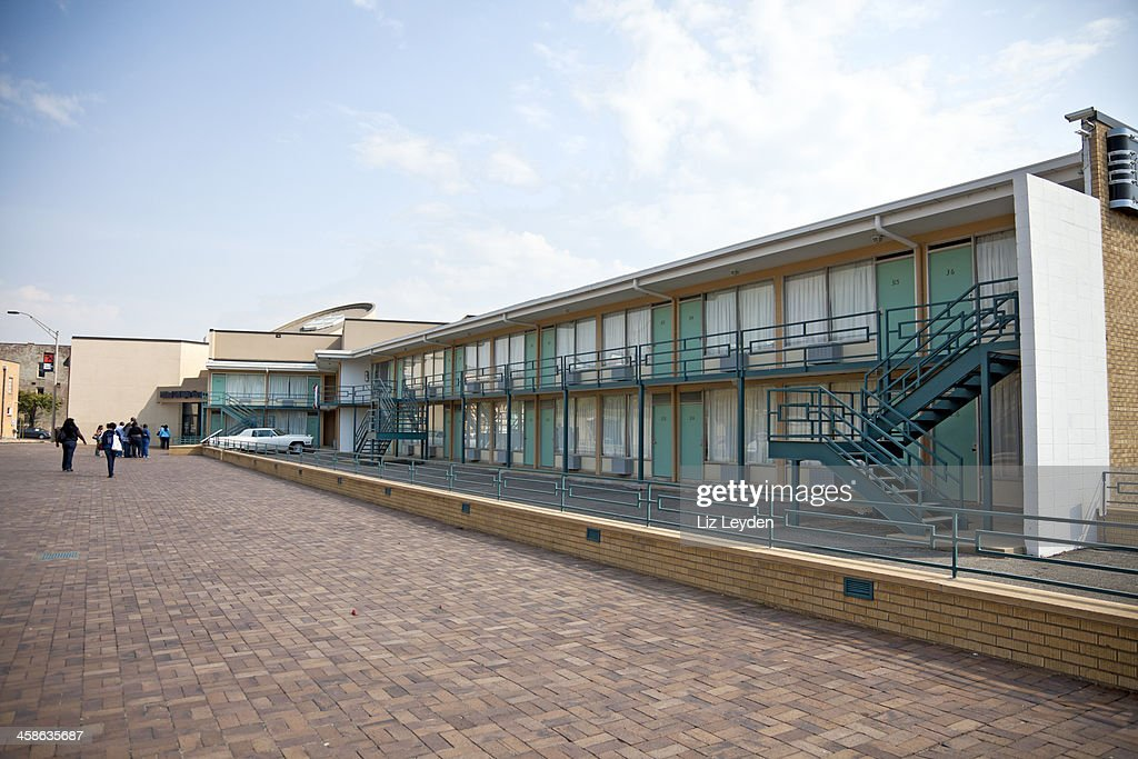 National Civil Rights Museum (Lorraine Motel), Memphis, Tennessee, USA : Stock Photo