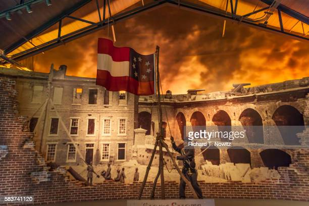 national civil war museum - fort sumter stock pictures, royalty-free photos & images