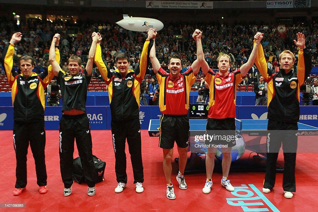 LIEBHERR Table Tennis Team World Cup 2012 - Day 7 : News Photo
