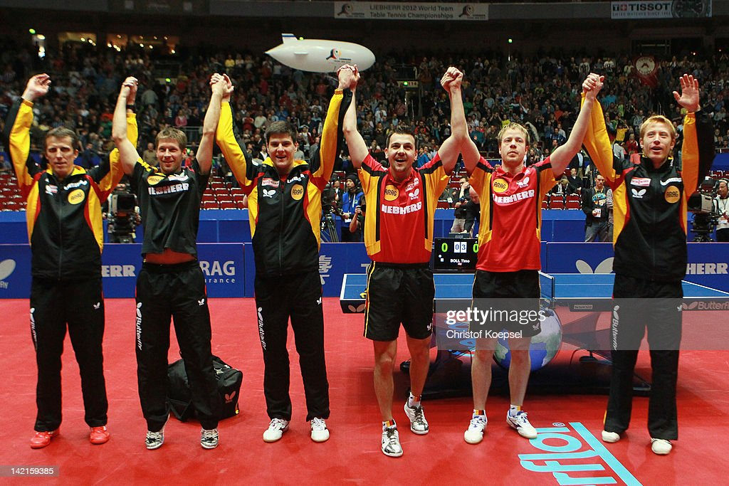 LIEBHERR Table Tennis Team World Cup 2012 - Day 7