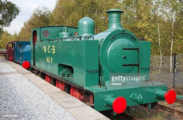 National carbón de locomotora de vapor