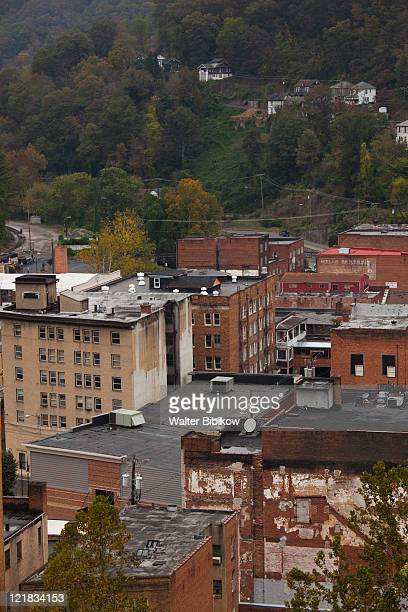 national coal heritage area, welch, west virginia, usa - protohistory_of_west_virginia stock pictures, royalty-free photos & images