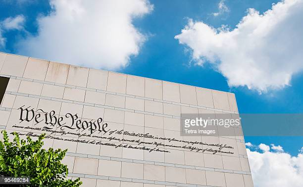national constitution center - national constitution center stock pictures, royalty-free photos & images