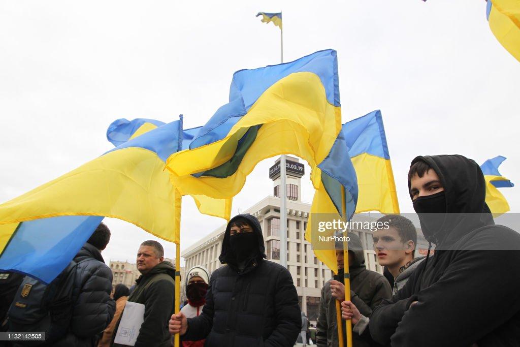 UKR: Protest Against Corruption In Kiev