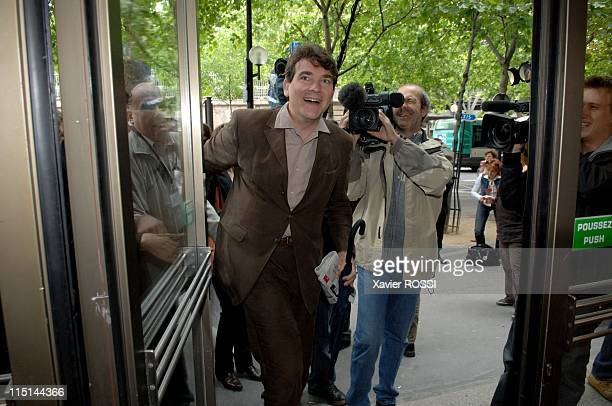 National council of Socialist Party in Paris France on June 23 2007 Arnaud Montebourg