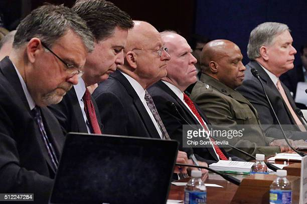 National Counterterrorism Center Director Nicholas Rasmussen Federal Bureau of Investigation Director James Comey Director of National Intelligence...