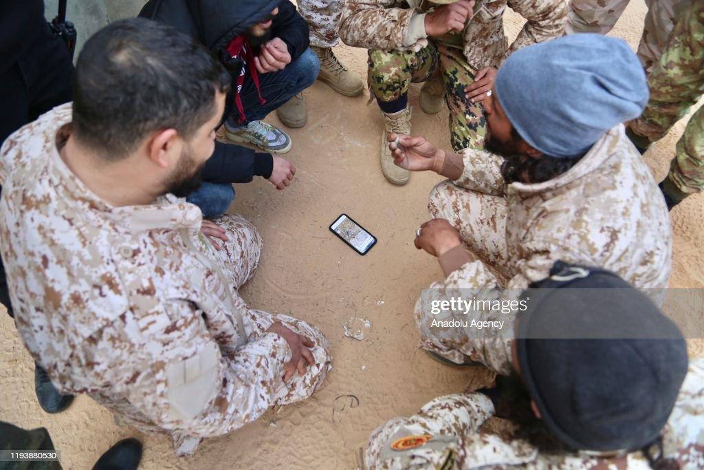 Following the ceasefire in Libya : Nieuwsfoto's
