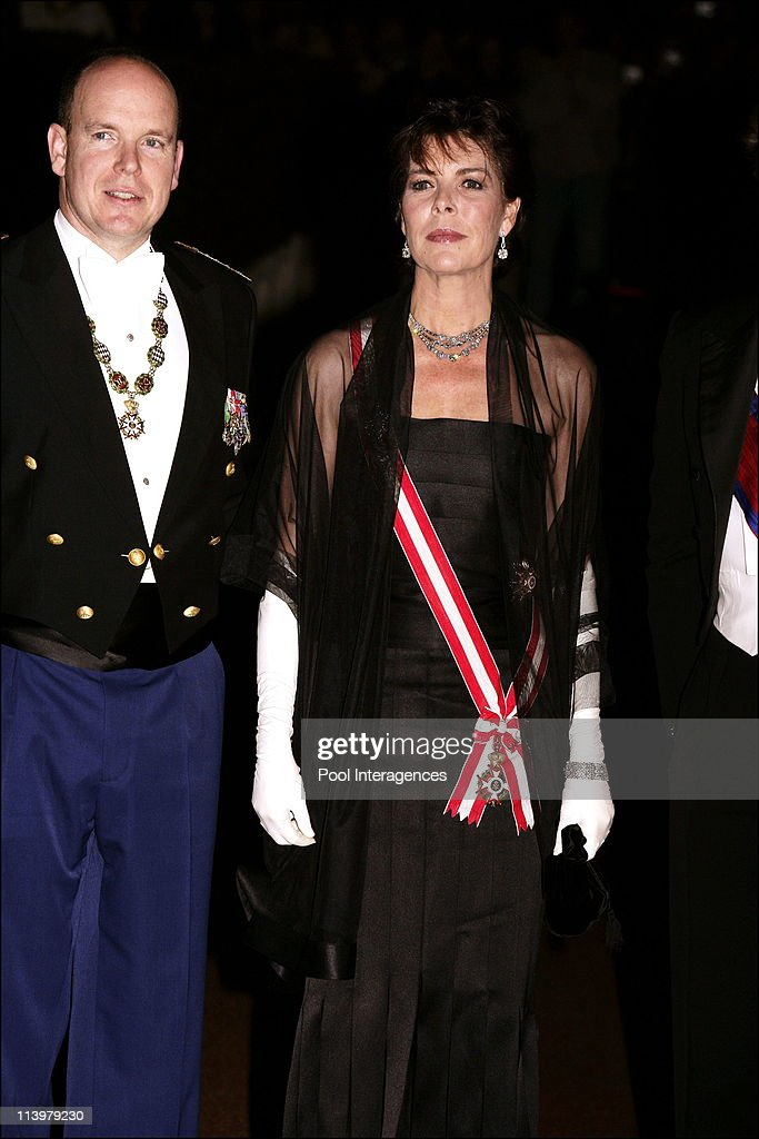 National Day: Gala at the Opera in Monte Carlo, Monaco On November 19, 2006- : News Photo