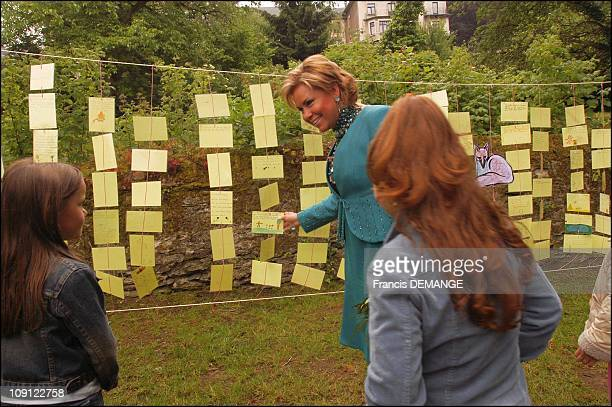 National Day In Luxembourg On June 22 2004 In Luxembourg Grand Duchess Maria Teresa In Wiltz