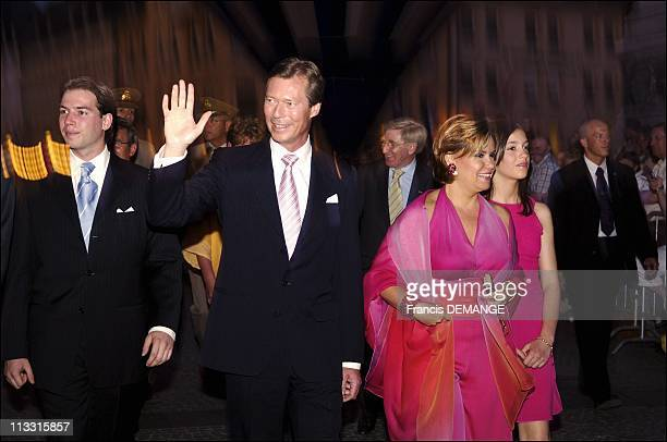 National Day In Luxembourg On June 22Nd 2005 In Luxembourg Luxembourg Here The Grand Ducal Family Grand Duke Heir To The Throne Prince Guillaume...