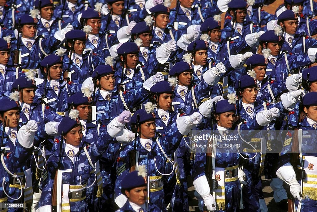 National Day In New Delhi, India On January 26, 1996- : News Photo