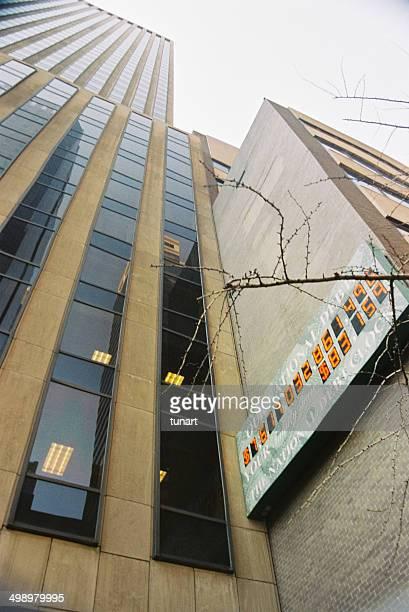 national debt clock, new york city, usa - national debt clock stock photos and pictures
