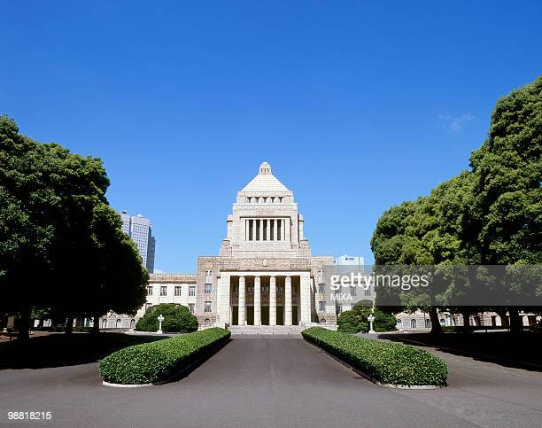 National Diet Building, Chiyoda, Tokyo, Japan