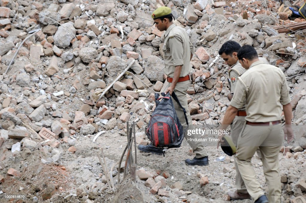 Shahberi Building Collapse: NDRF Completes 66-Hour Rescue Operation, Nine Bodies Recovered