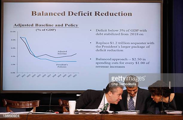 National Economic Council Director Gene Sperling Council of Economic Advisers Chairman Alan Krueger and Domestic Policy Council Director Cecilia...