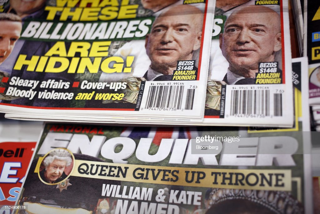 KY: Before Bezos Fight, Enquirer Publisher AMI Faced Steep Losses