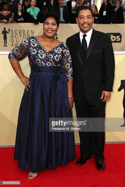National Executive Director David White attends the 24th Annual Screen Actors Guild Awards at The Shrine Auditorium on January 21 2018 in Los Angeles...