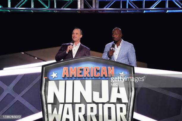 National Finals 3 Episode 1312 -- Pictured: Matt Iseman, Akbar Gbajabiamila --