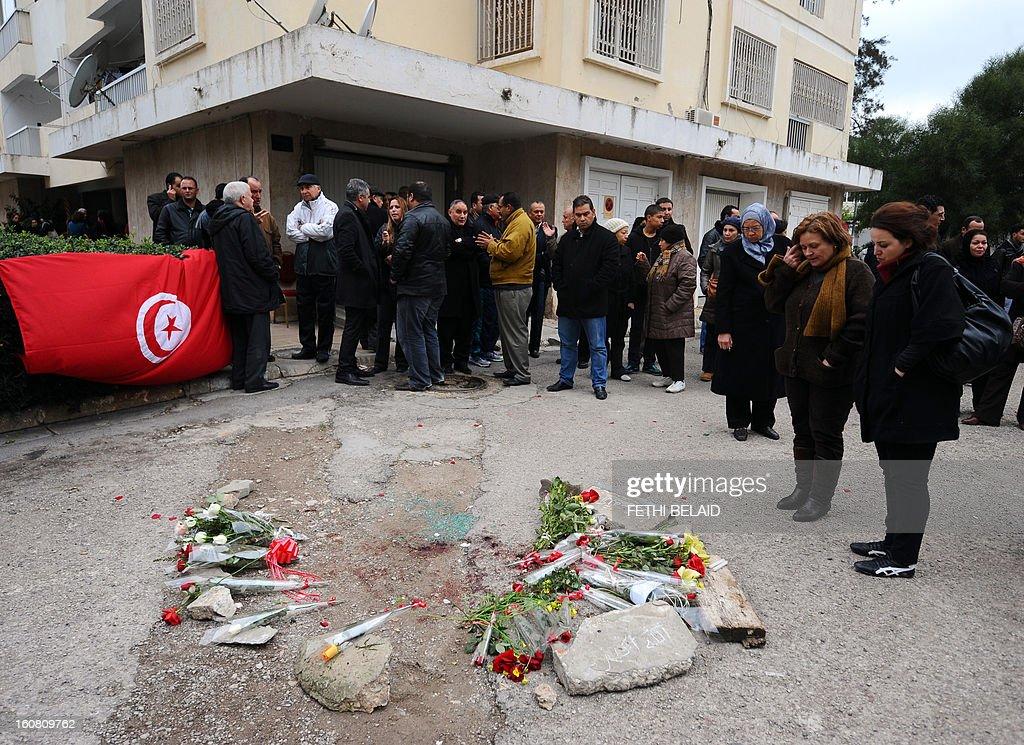 TUNISIA-POLITICS-UNREST-OPPOSITION : News Photo