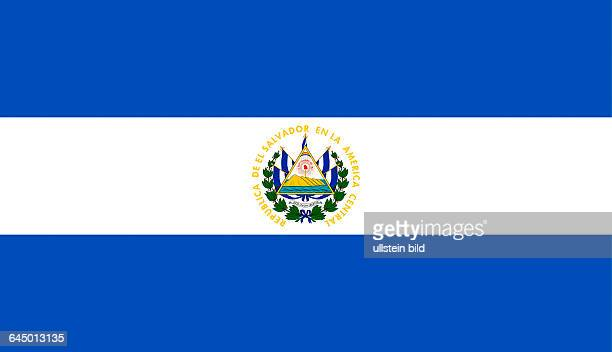El Salvador Flag Stock Photos And Pictures Getty Images