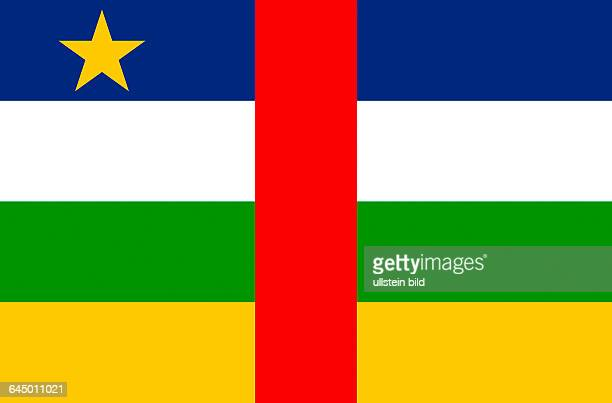 National flag of the Central African Republic.