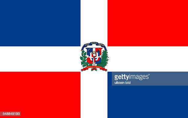 National flag of the Dominican Republic