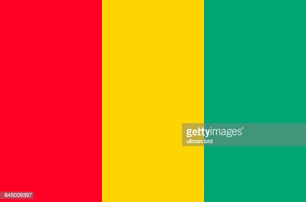 National flag of the Republic of Guinea