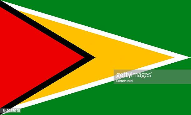 National flag of the Republic of Guyana