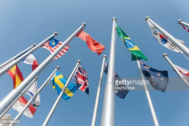 national flags - national flag stock photos and pictures