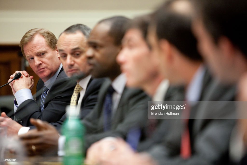 NFL Commissioner Roger Goodell Testifies On Anti-Doping Measures