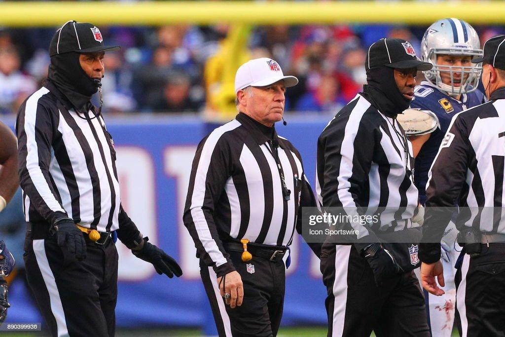 NFL: DEC 10 Cowboys at Giants : News Photo