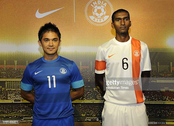 reputable site 482de 37a2f Launches India National Football Team Kit Premium Pictures ...